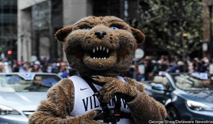Villanova Parades Down Broad Street Villanova Style