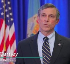 Watch Governor Carney Provide Update To State's Response To Covid-19 (Previously Recorded)