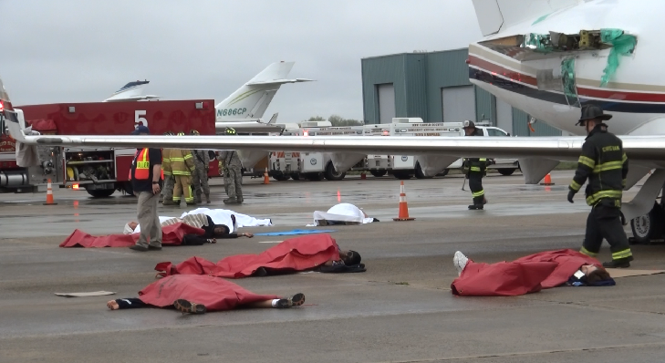 New Castle County Airport hosts emergency exercise