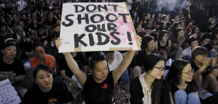 A New Kind Of Protest In Hong Kong