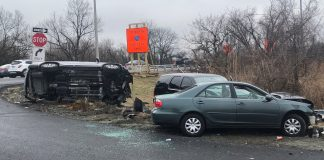 Three injured including Trooper following high speed pursuit crash Saturday morning
