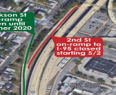 A $20 million I-95 corridor rehabilitation project is scheduled to begin on April 15