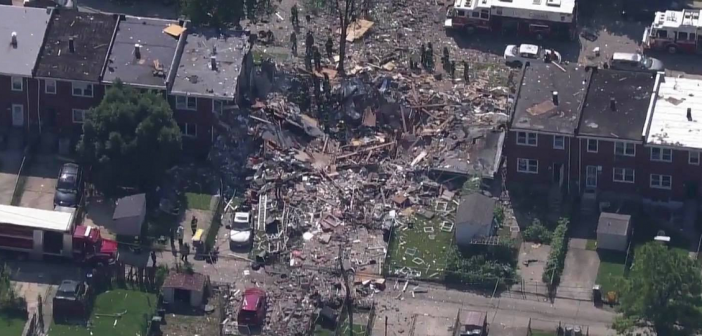 One dead, seven injured in Baltimore explosion that leveled multiple homes