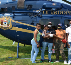 State Police make 5-year-old girl with terminal bone cancer dream come true