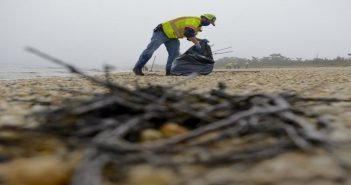 Oil Spill clean-up now stretches from Bowers Beach to Ocean City, Maryland