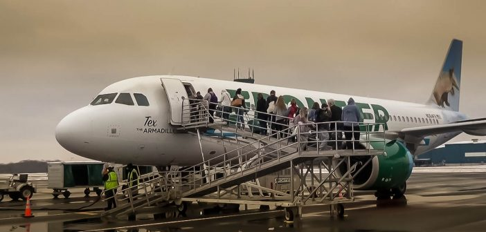 After nearly five years of cancelled flights, Frontier is back in the air