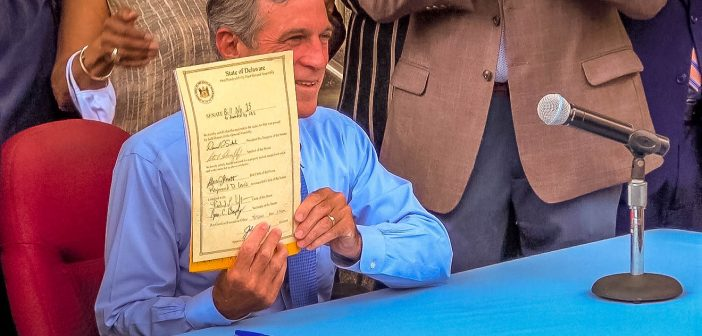 Governor Carney signs $15 minimum wage legislation