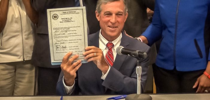 Governor Carney Signs Body Camera Legislation