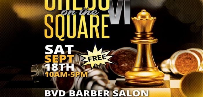 """Chess On The Square"""" Tournament Set for Saturday, September 18"""