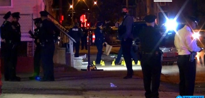 26 evidence markers seen at crime scene where 18-Year-Old man killed
